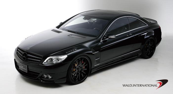 2001 Wald Mercedes Benz Cl Class W140. W216 CL Class Black Bison