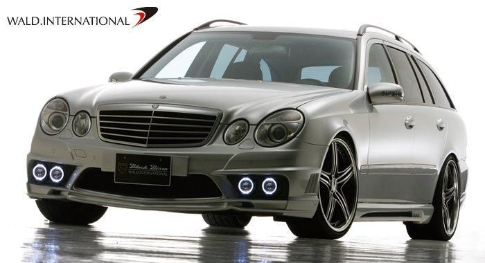 Mercedes Benz E-class W211 Wagon Sports Line BlackBison Edition