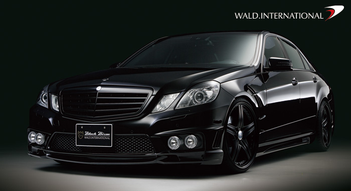 Mercedes Benz E Class W212 Sports Line Blackbison Edition