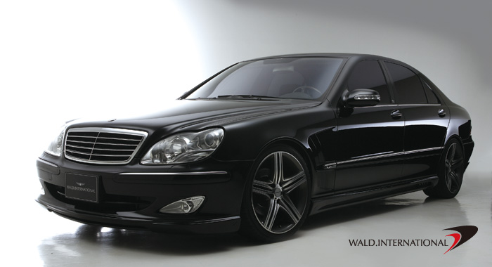mercedes benz s class w220 w221 look. Black Bedroom Furniture Sets. Home Design Ideas