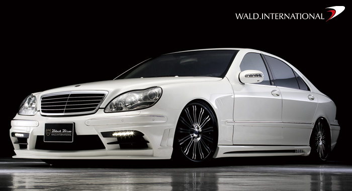 Mercedes Benz S Class W220 Sports Line Black Bison Edition
