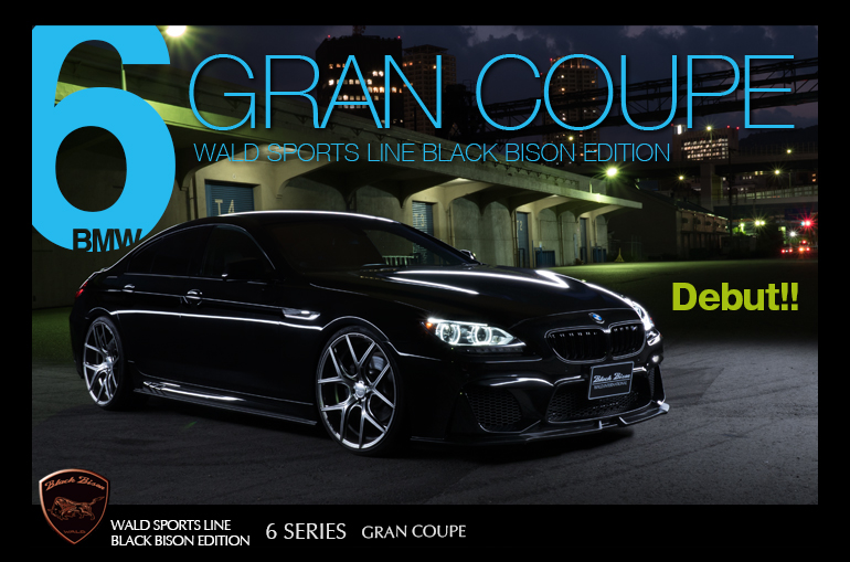 WALD AERO : 6 GRAN COUPE SPORTS LINE BLACK BISON EDITION