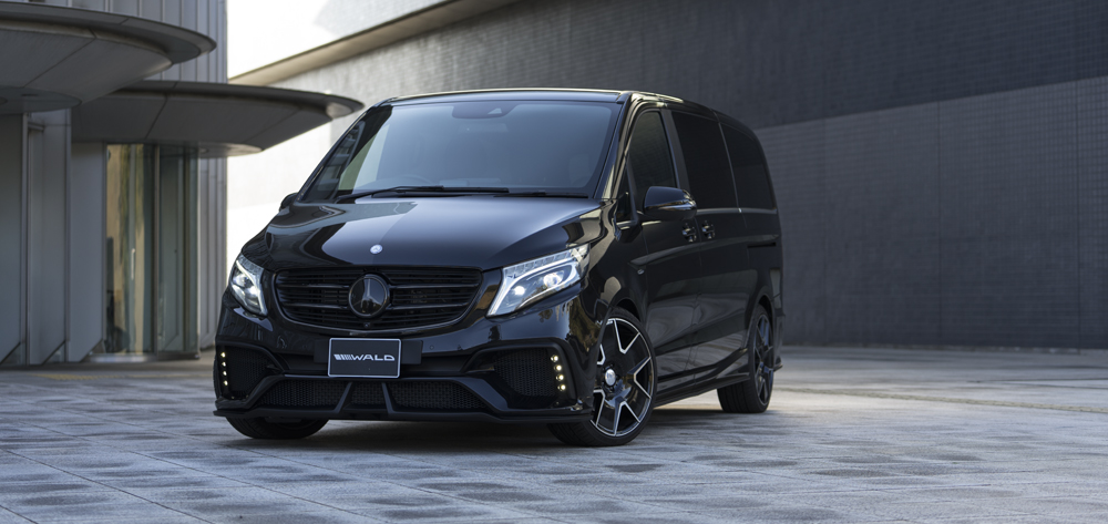 Mercedes Benz Parts >> GALLERY - WALD V-CLASS W447 - SPORTS LINE BLACK BISON EDIITON