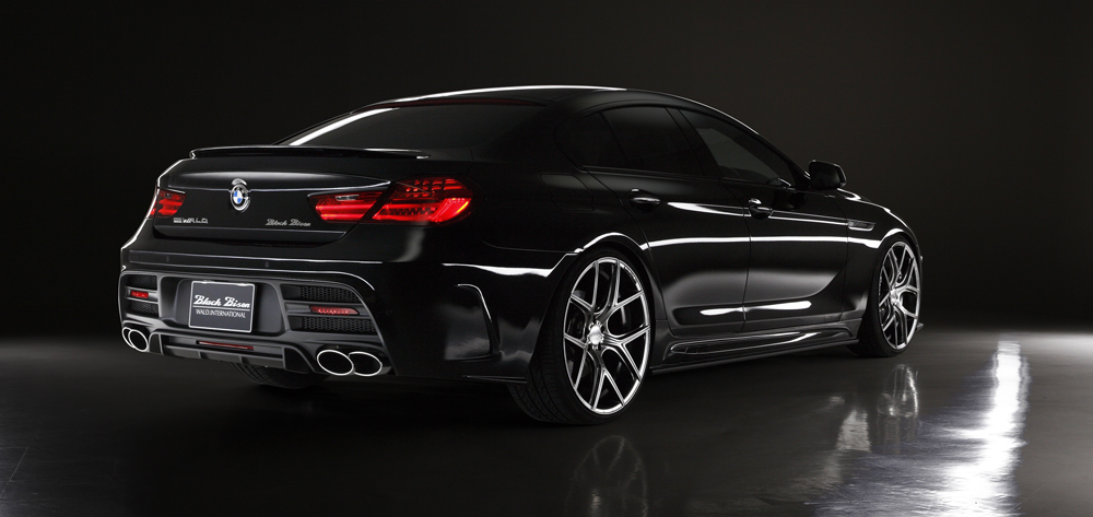 GALLERY & MOVIE - WALD 6 SERIES GRAN COUPE - SPORTS LINE BLACK ...