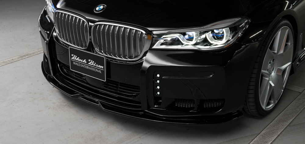 WALD AERO : BMW 7SERIES G12 SPORTS LINE BLACK BISON EDITION