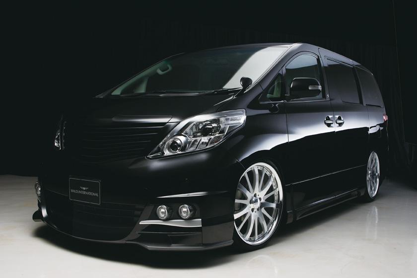 Toyota Alphard Sports Line Black Bison Edition