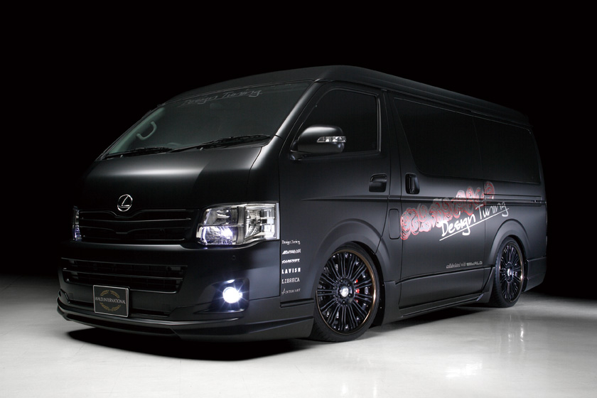 toyota 210 hiace wide long executive line. Black Bedroom Furniture Sets. Home Design Ideas