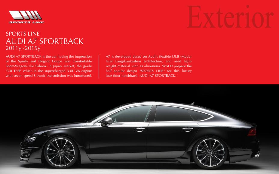 Exterior Audi A7 Sportback Sports Line