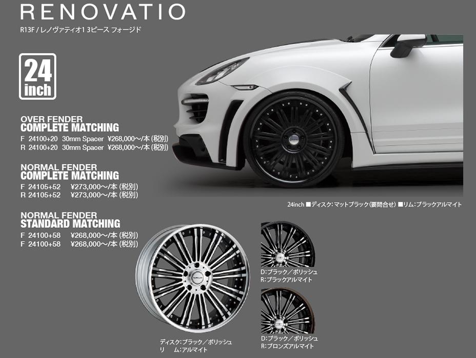 Wheel Porsche Cayenne 958 Black Bison Edition