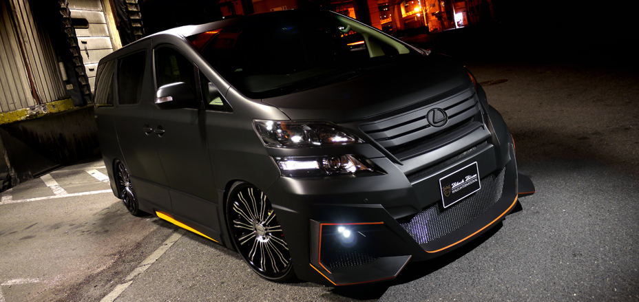 INDEX - TOYOTA VELLFIRE BLACK BISON EDITION