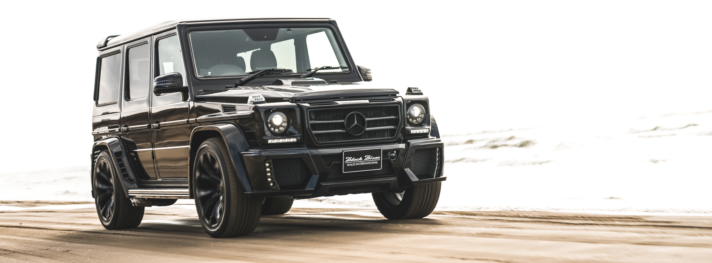 MERCEDES BENZ G-CLASS W463 SPORTS LINE BLACK BISON EDITION