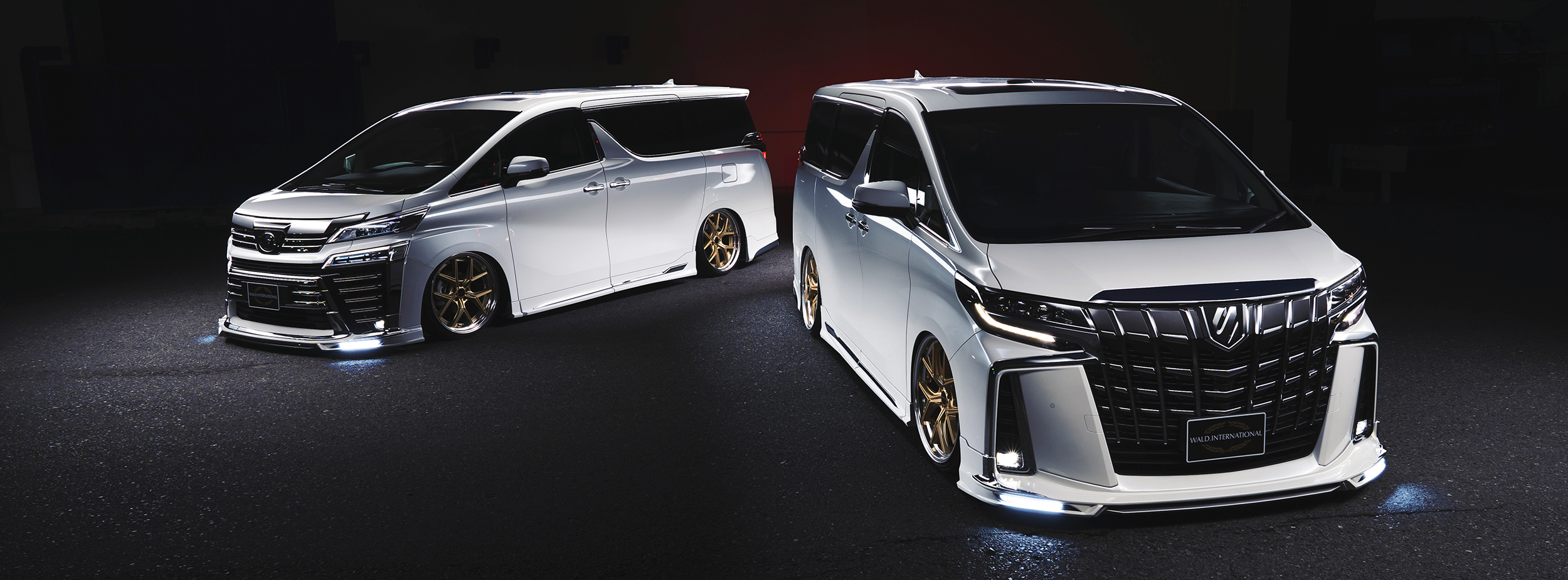 ALPHARD WALD EXECUTIVE LINE