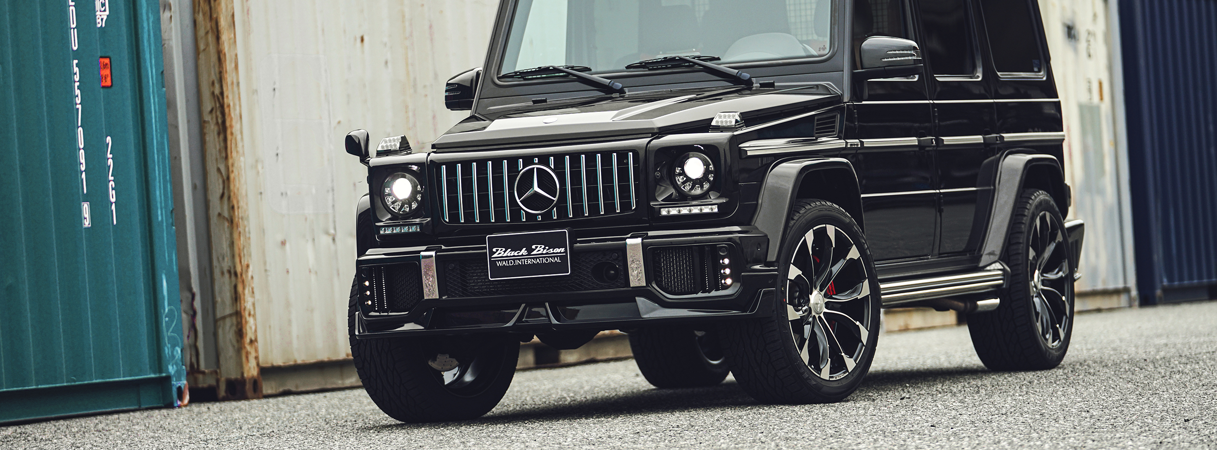 G-CLASS W463 WALD SPORTS LINE BLACK BISON EDITION