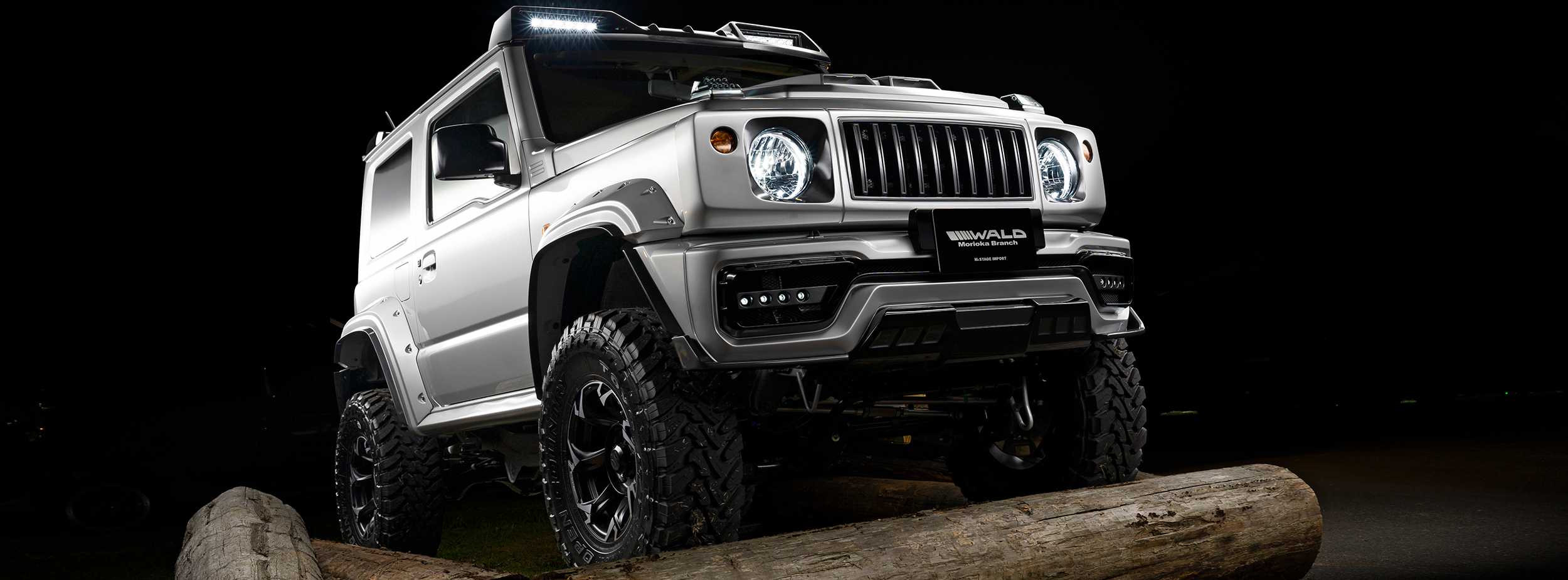 JIMNY SIERRA WALD SPORTS LINE BLACK BISON EDITION