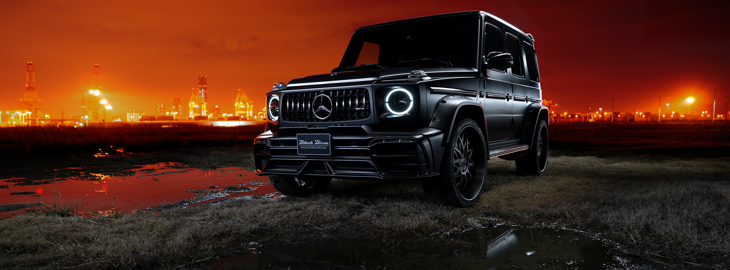 G-CLASS W463 SPORTS LINE BLACK BISON EDITION